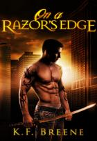 Darkness #3 - On a Razor\'s Edge - K.F. Breene