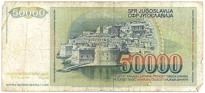 50000 dinarjev (1988)